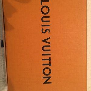 Empty Medium Sized Louis Vuitton Box